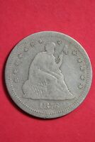 1876 S Seated Liberty Quarter Exact Coin Shown Combined Shipping OCE 79
