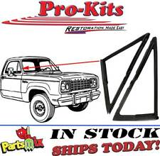 Fits 72-77 Dodge Truck D W 100 150 200 300 (see applications) Vent Window Seals