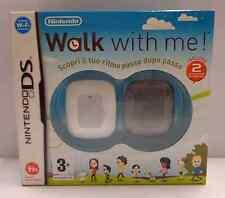 Console Game Gioco NINTENDO NDS DS ITALIANO WALK WITH ME ! Include 2 Misuratori