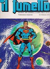 IL FUMETTO rivista ANAF N.5 /1979 superman cino franco mirko giungla lord sister