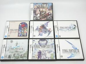 Final Fantasy Tactics Ring of Fates Echoes Time Revenant Wings Nintendo DS Japan