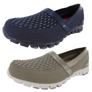 Skechers Womens EZ Flex Two Step 22619 Slip-On Sneaker Shoe