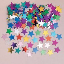 Multicolore POLVERE DI STELLE coriandoli Star Festa compleanno tavolo Spruzza