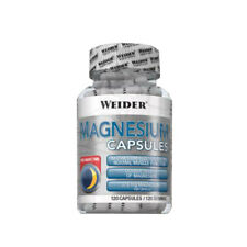 Weider Magnesium Caps Dose á 120 Kapseln Vitamin C Muskel Kraft Definitionsphase