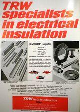 1966 TRW Electro Insulation Inc ASBESTOS PAPER Composites