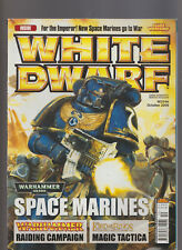 Games Workshop White Dwarf Warhammer 40,000 Space Marines Oct 2008