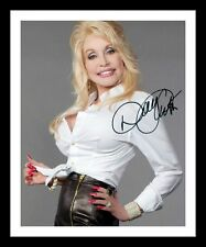 DOLLY PARTON AUTOGRAPHED SIGNED & FRAMED PP POSTER PHOTO 1