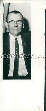 1961 LDS Church Elder Drechsel Gerhardt Original News Service Photo