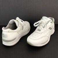 SAS Journey Sneaker Men's White Leather Athletic Walking Shoe Size 10.5 N