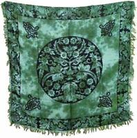 "Greenman  Altar/Tarot Cloth  -  36"""