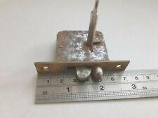 Brass-Steel Box- Chest Lock 1 Key (1298) Spring bolt x 71mm x 38mm