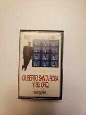 Collectible Latin Salsa Gilberto Santa Rosa y su Orquesta Punto de vista 1990