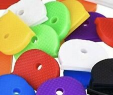 Coloured KEY TOP COVERS Head Caps Tags ID Markers MIXED TOPPERS