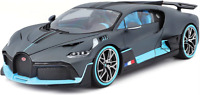 Burago - 1/18 - BUGATTI - DIVO 2018 - MATT GREY LIGHT BLUE