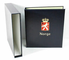 Davo Deluxe Stamp Album: Norge Vol. I (Norway) ^ Standard Binder w/o Pages