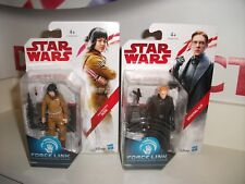 "star wars 3.75"" the last jedi joblot bundle ROSE & HUX NEW ON CARDS postage disc"
