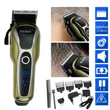 High Quality Electric Men's Hair Clipper Shaver Trimmer Cutter Cordless Razor