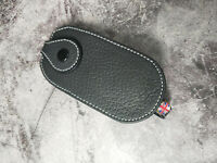 ALFA ROMEO Genuine Leather Key Case for 159 BRERA GT 946 Spider Black color