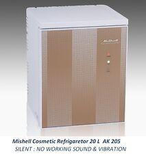 NEW Mishell Cosmetic Refrigerator 20 L AK 205 Silent Design & Smart Temp Control