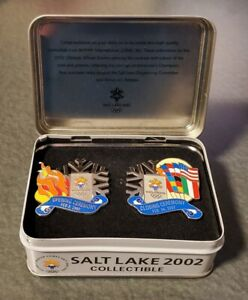 2002 SALT LAKE OLYMPIC OPENING/CLOSING CEREMONIES PIN/PINS. LIMITED RARE!!