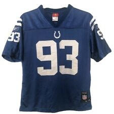 MENS NFL INDIANAPOLIS COLTS CLARK JERSEY FREENEY #44 SIZE YOUTH 14-16
