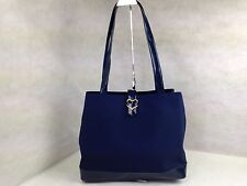 Auth VINTAGE YVES SAINT LAURENT Ysl Tote Bag 5E120130""