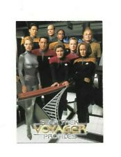1998 STAR TREK VOYAGER PROFILES PROMO CARD FREE SHIPPING