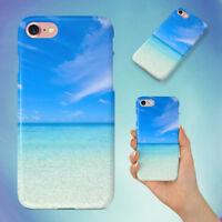 BEACH CALM CLOUDS COAST HARD BACK CASE FOR APPLE IPHONE PHONE
