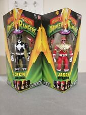 Sabans: Mighty Morphin Power Rangers: Red Ranger and Black Ranger