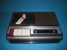 AWESOME VINTAGE CHANNEL MASTER 6310 TAPE RECORDER/PLAYER RARE MINT NO AC ADAPTER