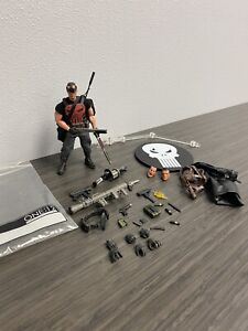 Mezco One 12 The Punisher PX Exclusive Fully Loaded Figure Loose Exclusive