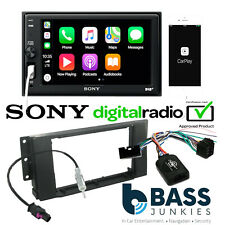 Landrover Discovery 3 2004-09 Sony Carplay BT Car Stereo & Steering Wheel Kit