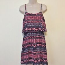 Rue 21 Boho Elephant Print Dress - Size Medium