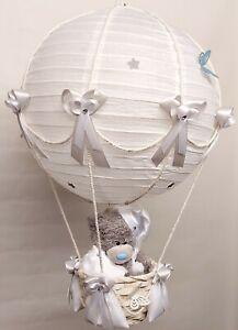 Hot Air Balloon Lamp-light Shade for Baby Nursery with Tatty teddy