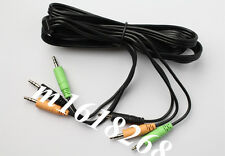 NEW Logitech Z-5500 Speakers Color Coded 3 color Audio Cable 3.5mm cable Adapter
