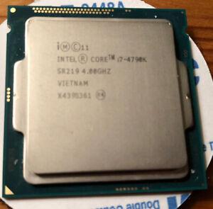 Intel Core i7-4790k CPU processor 4.00 GHz quad-core SR219 LGA1150