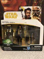 Hasbro Star Wars Kessel Guard Lando Calrissian 2 Pack Solo Series