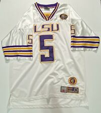 Vintage Lsu Tigers Football Jersey #5 Men's Xl Officially Licensed College Equip