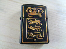 ZIPPO LIGHTER VINTAGE SERIE TOLEDO NR. 528 RICHARD LION HEARTE NEW