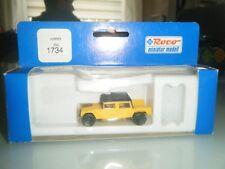 Roco  Miniatur Modell  1734 Hummer Geländewagen Zivil Gelb 1:87  HO
