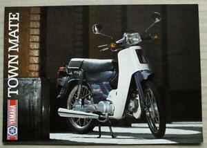 YAMAHA TOWNMATE 79cc MOTORCYCLE Sales Brochure c1986 #LIT-3MC-0107949-86E