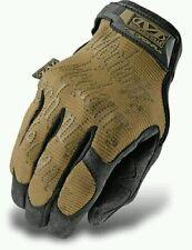 Mechanix guanti tattici militari moto ciclismo lavoro Tg. S M L XL Brown nuovi