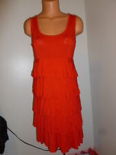 Spense M red tiered stretch dress   Retails $60