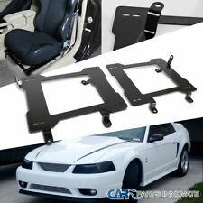 99-04 Mustang Tensile Steel Racing Seat Bucket Laser Welded Mounting Brackets