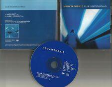 HOOVERPHONIC Club Montepulciano w/ RARE RADIO EDIT PROMO DJ CD single 1998 USA