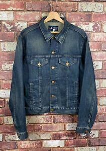 Armani Jeans Mens Jean Jacket Medium  A635