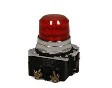 Cutler Hammer 10250T201C1N Pilot Light Red 120V AC New Tested