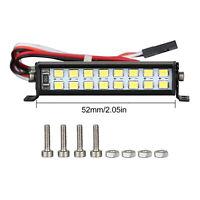 For SCX10 D90 TRX4 1/10 RC Climbing Car Spotlight Dual-Row Roof Lamp Light Kit