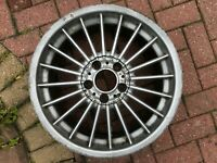 "GENUINE BMW 3 SERIES E46 B3 18"" C95 ALPINA SOFTLINE FRONT ALLOY WHEEL 3611181"