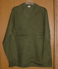 ARMY OD Green Military Issue LS Shirt,16 1/2 x 36, 8405-00-615-0312 75'- 80' NOS